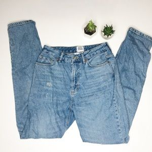Urban Outfitters BDG 26 Distressed Mom Jeans